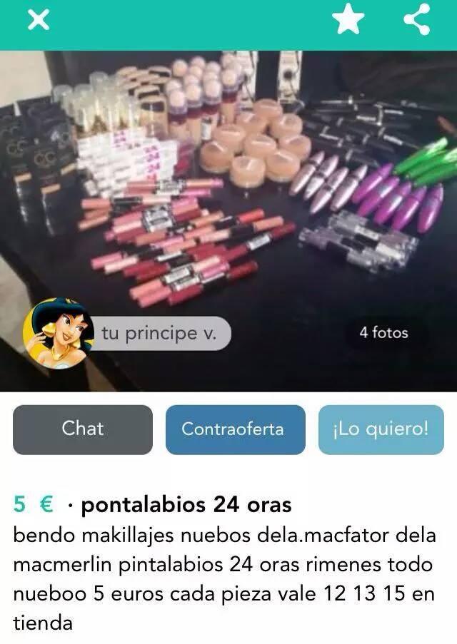 Maquillajes (pontalabios)