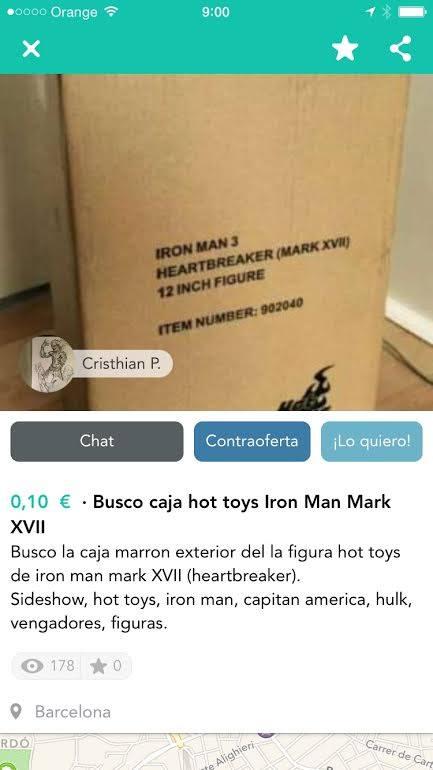 Busco caja hot toys