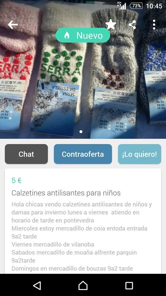 Calzetines antilisantes