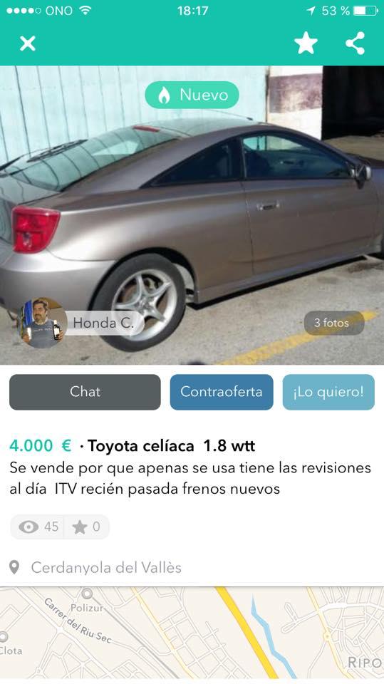 Toyota celíaca