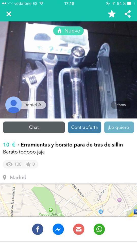 Erramientas y borsito