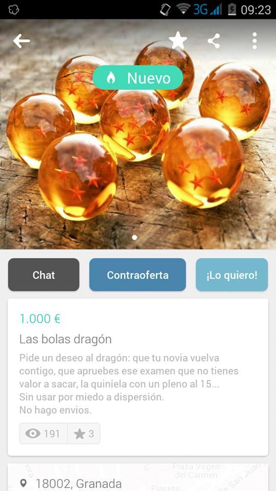 Las bolas de dragón