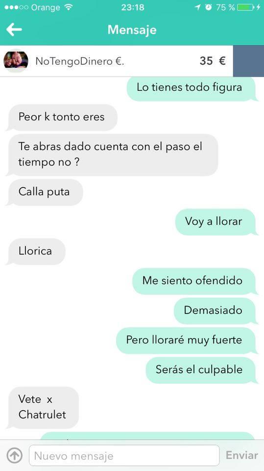 Chat no tengo dinero 3