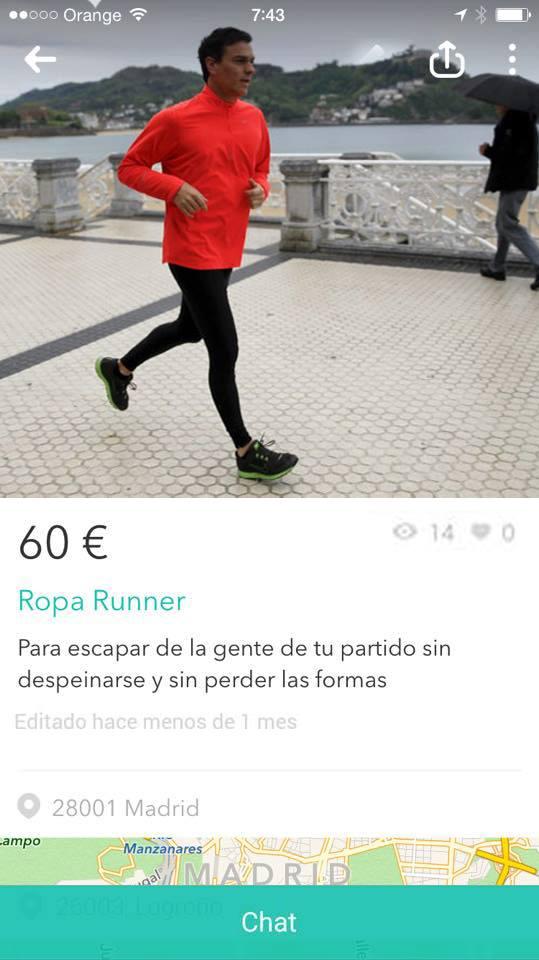 Ropa runner