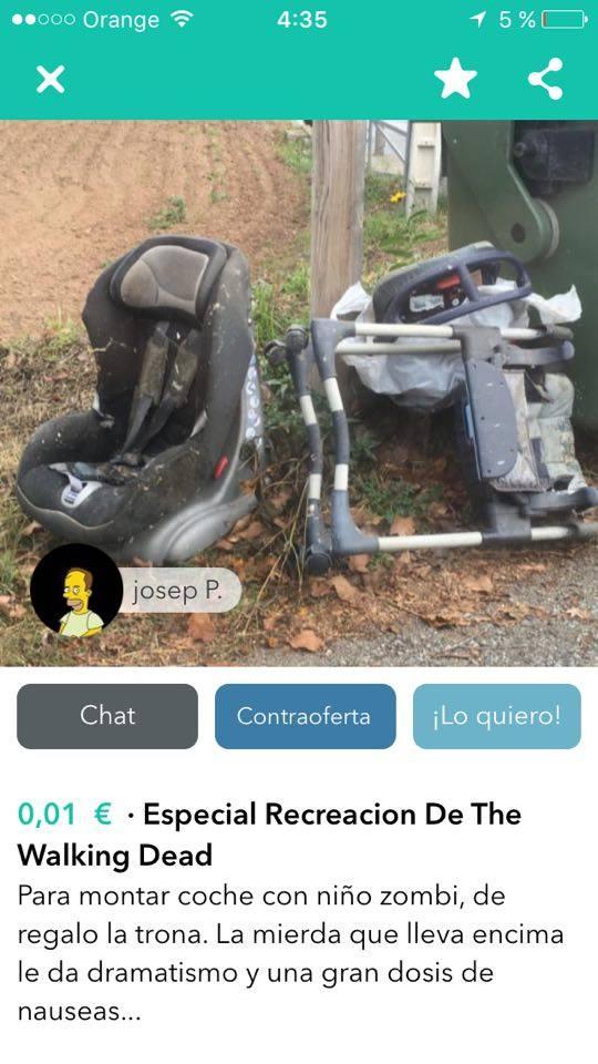 Especial recreación The walking dead