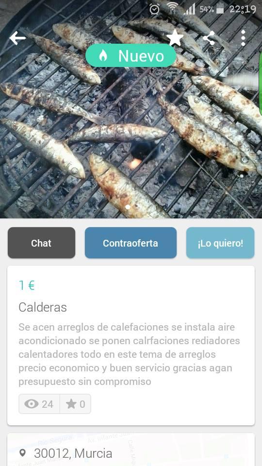 Calderas (espetos)