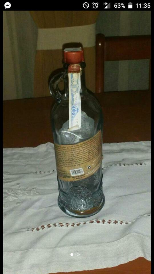 Chat botella antigua de 1700 2