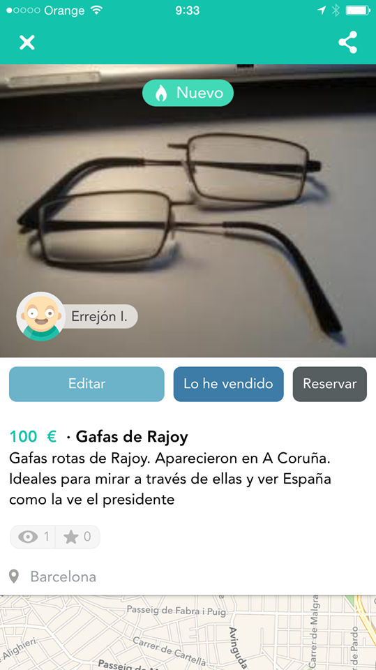gafas de rajoy