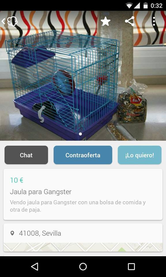 Jaula para Gangster