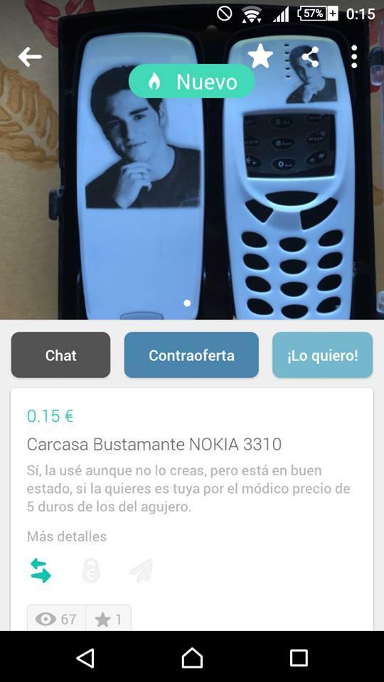 Carcasa Bustamante NOKIA 3310