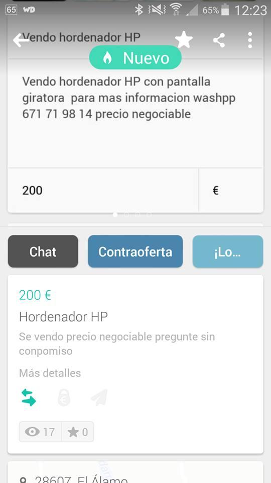 Hordenador HP
