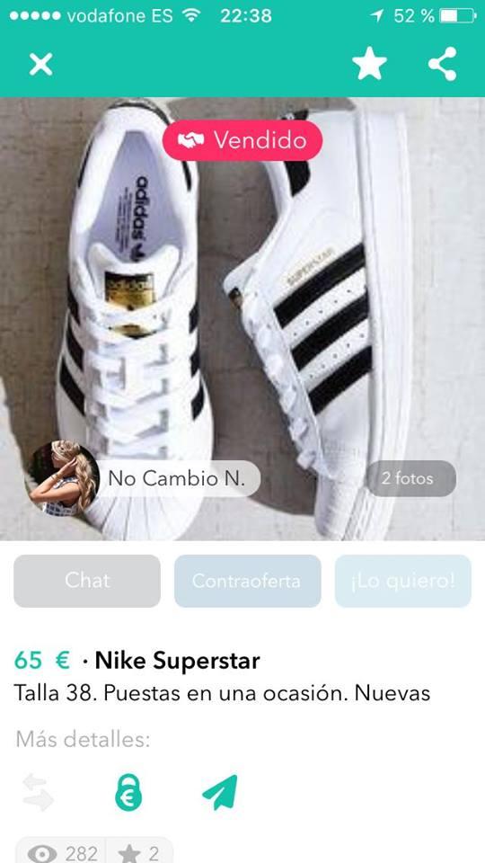 Nike superstar