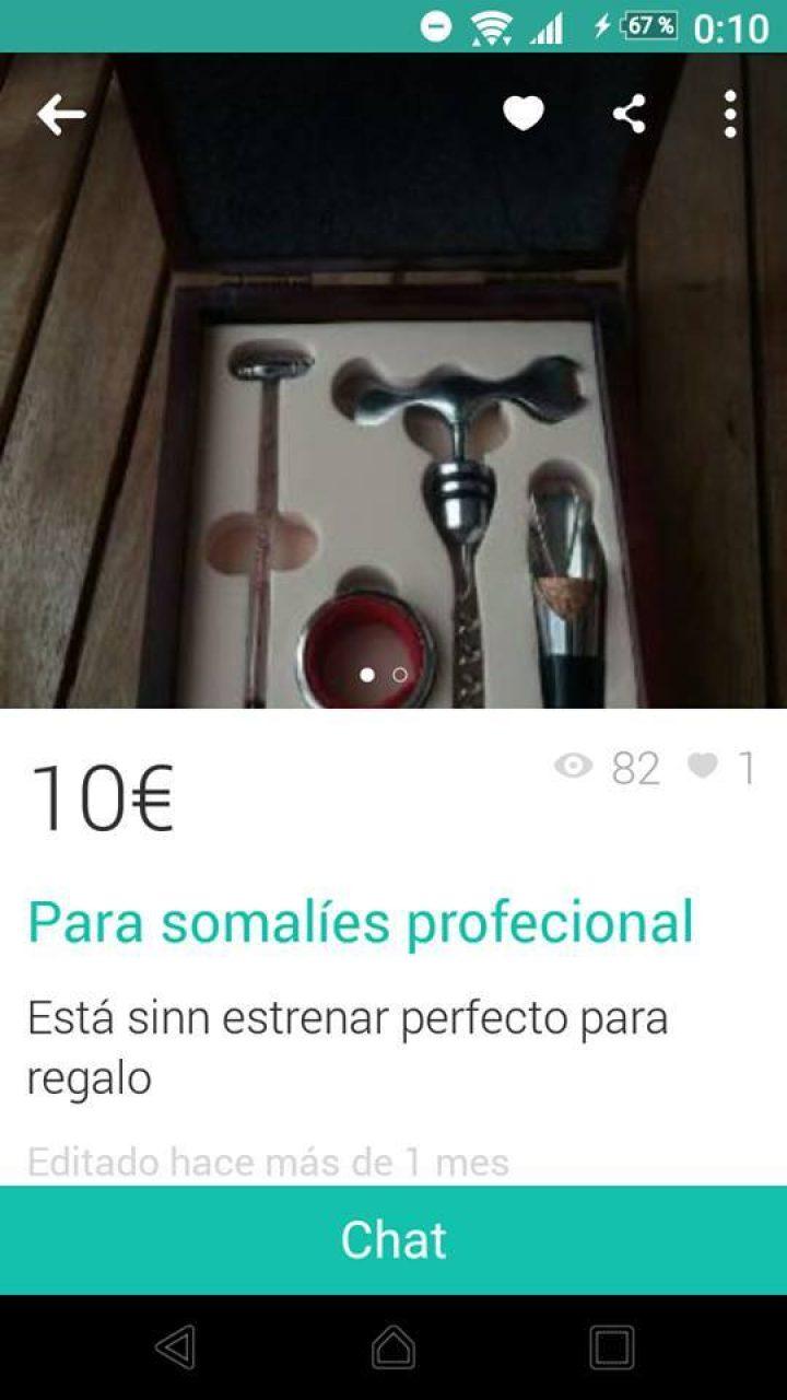 Si Rajoy es presidente de España, podemos vender cualquier cosa en Wallapop