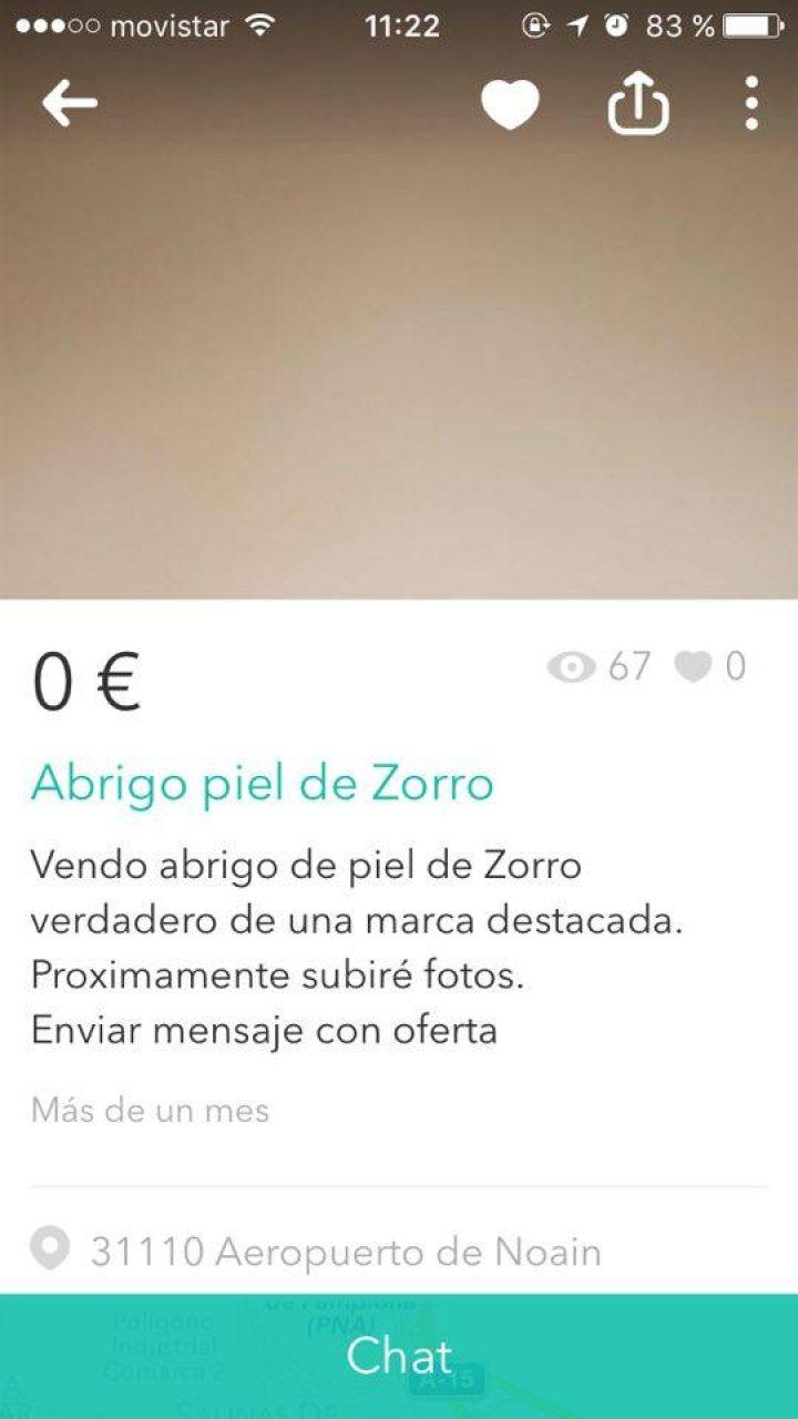 ABRIGO PIEL DE ZORRO