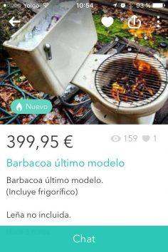 BARBACOA ÚLTIMO MODELO