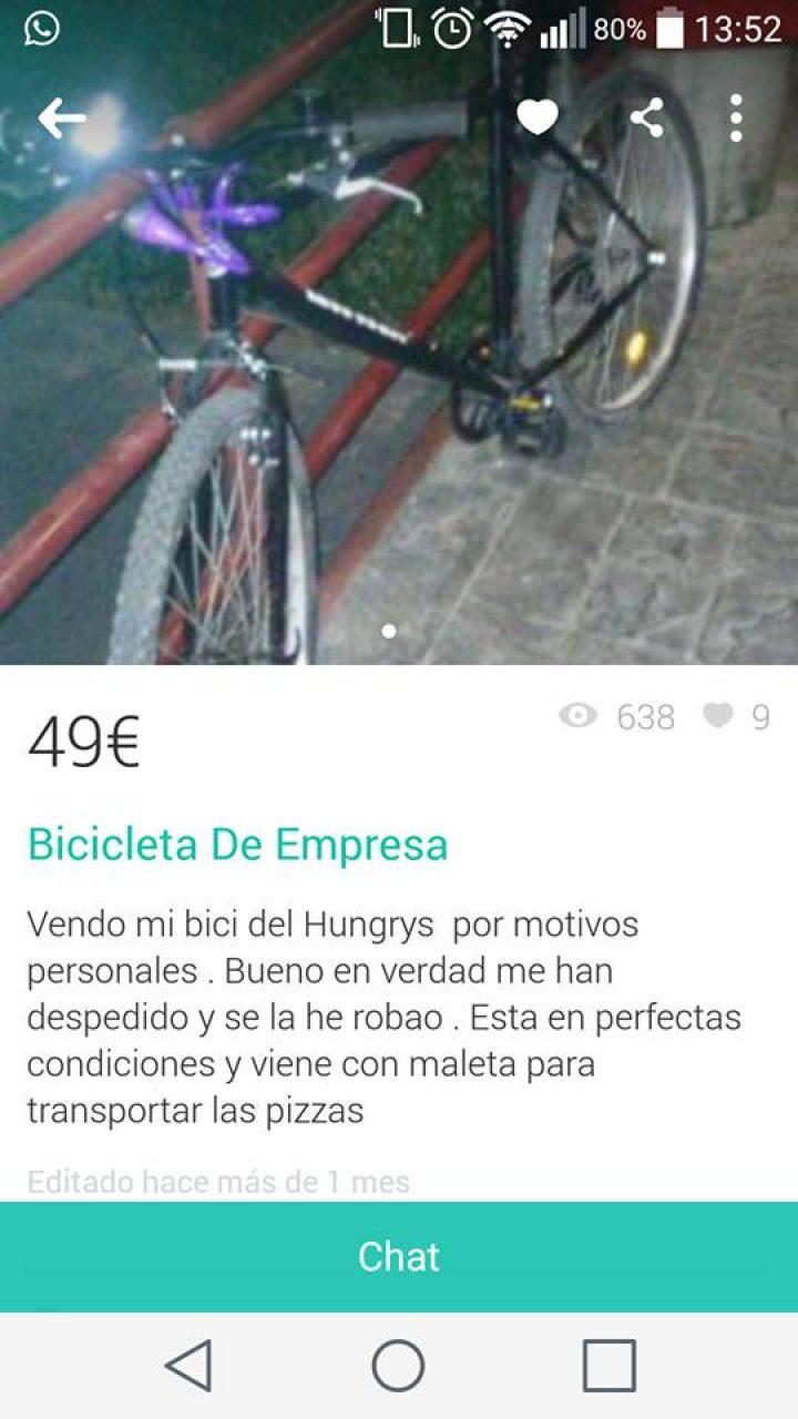 BICICLETA DE EMPRESA