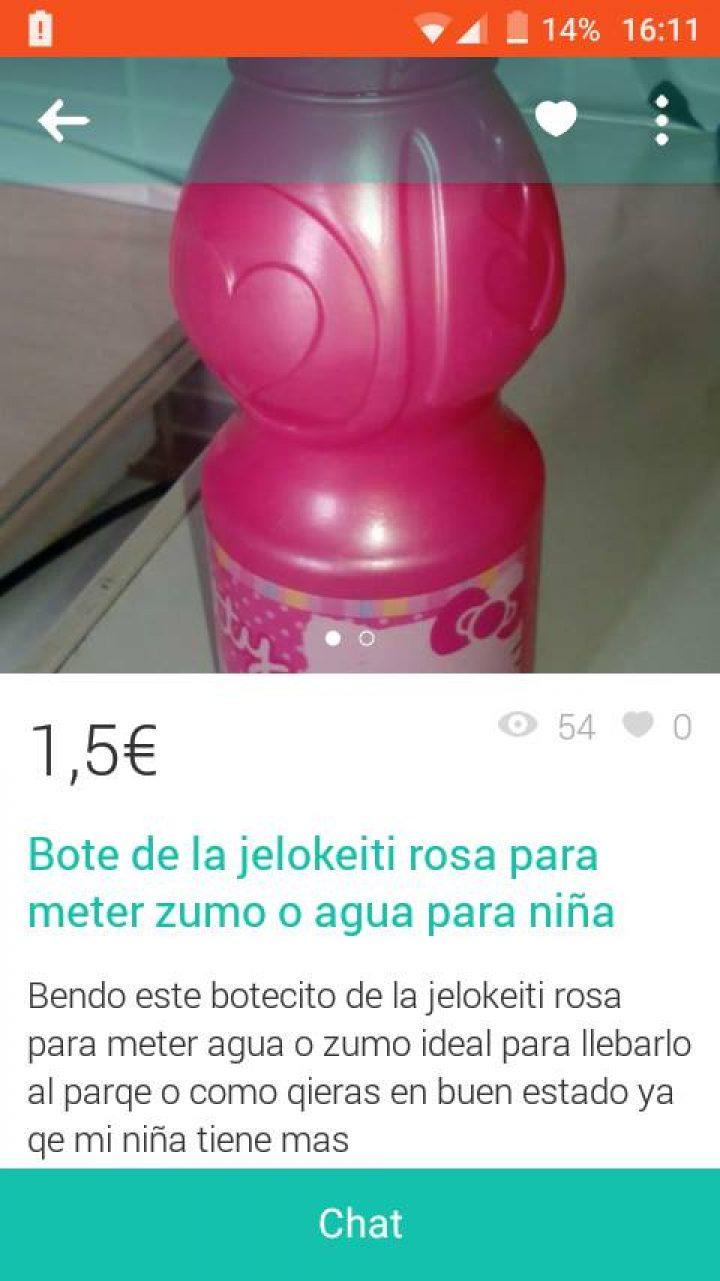 "BOTE DE ""JELOKEITI"""