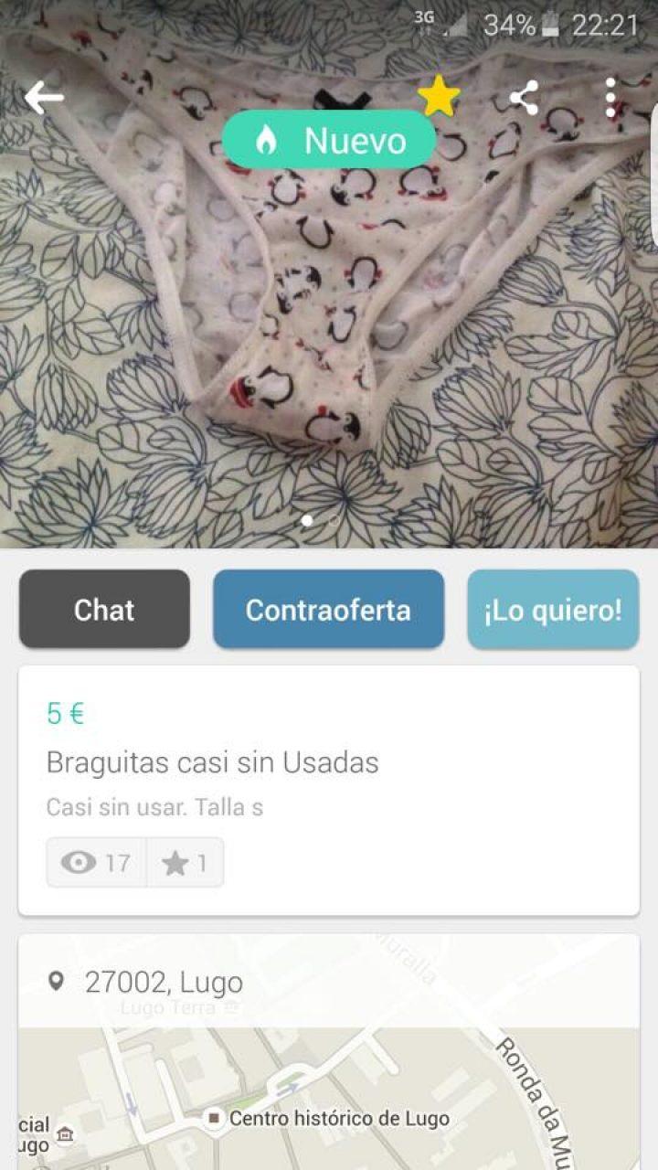 BRAGUITAS CASI SIN USADAS