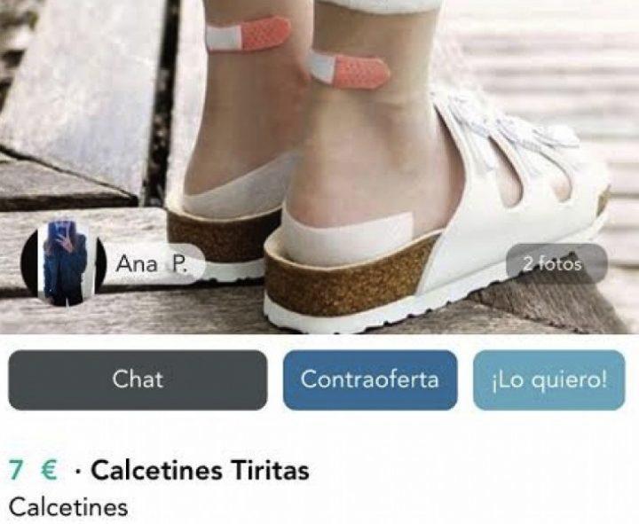 CALCETINES  TIRITAS