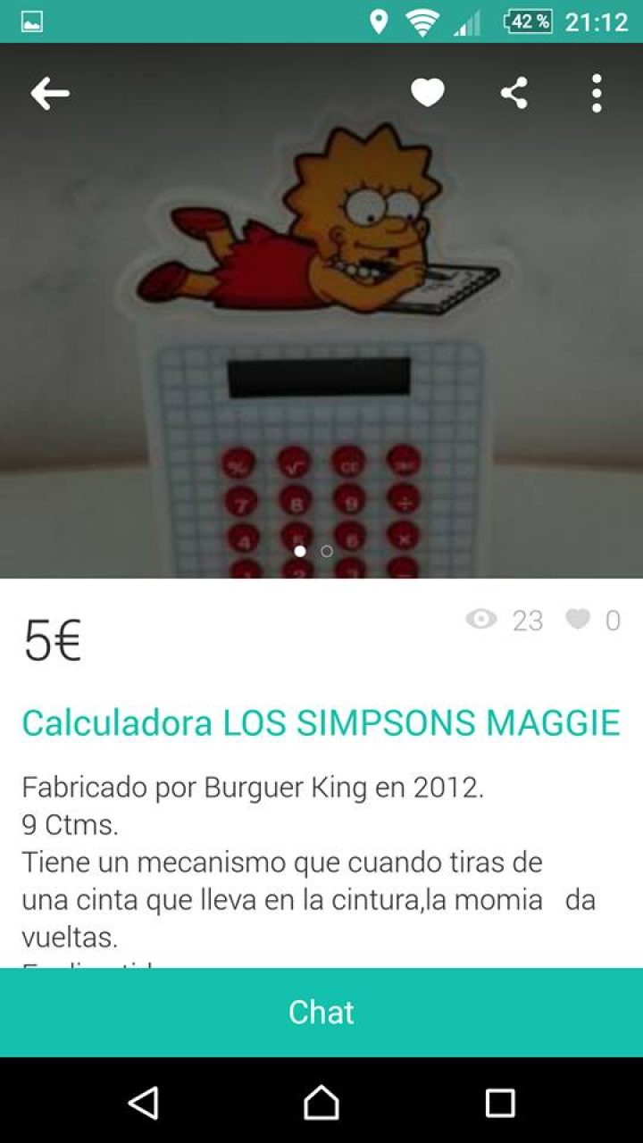 CALCULADORA LOS SIMPSONS