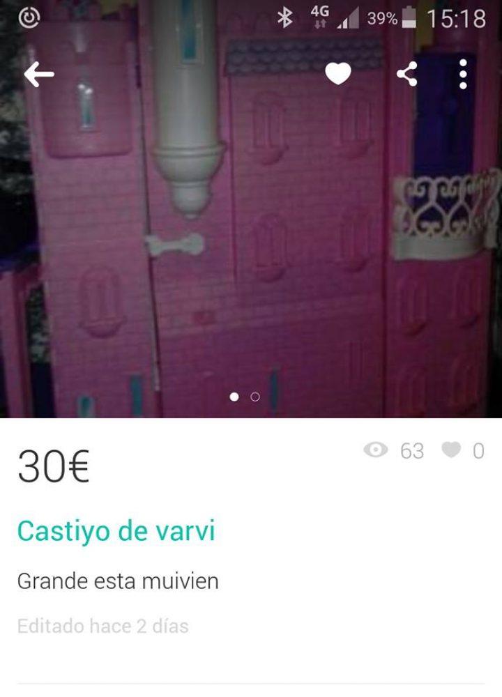 """CASTIYO DE VARVI"""