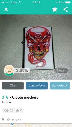 CIPOTE MECHERO