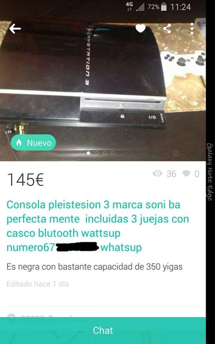 CONSOLA PLEISTEISON