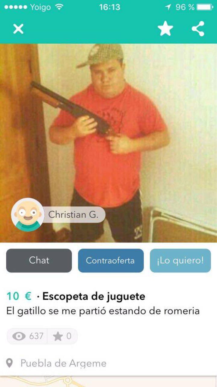 ESCOPETA DE JUGUETE