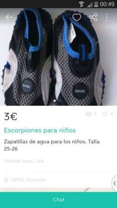 """""""ESCORPIONES PARA NIÑOS"""""""