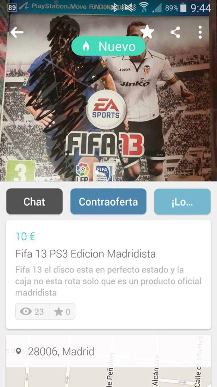 FIFA EDICIÓN MADRIDISTA