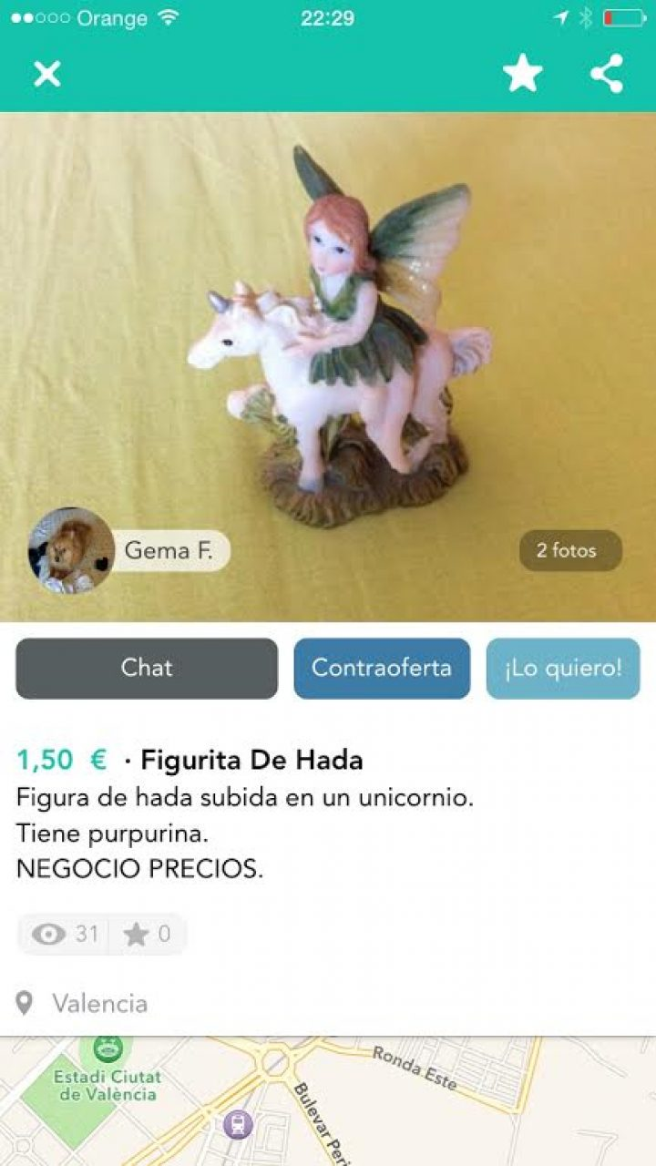 FIGURITA DE HADA