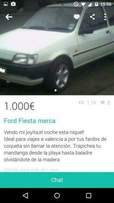 FORD FIESTA MERCA