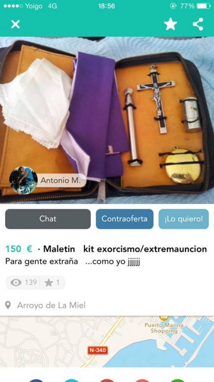MALETIN KIT EXORCISMO/EXTREMAUNCIÓN