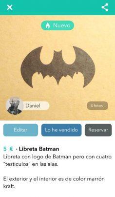 LIBRETA BATMAN