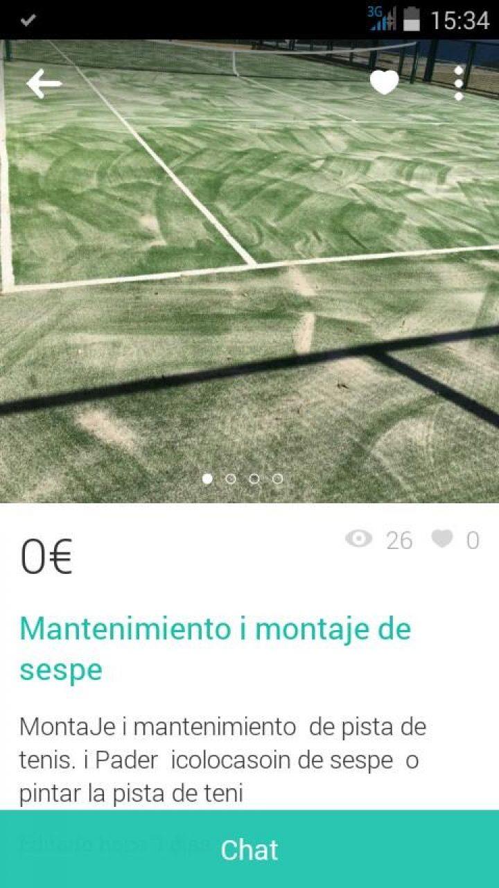 """MANTENIMIENTO Y MONTAJE DE """"SESPE"""""""