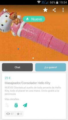 CONSOLADOR HELLO KITTY