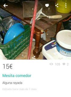 MESITA COMEDOR