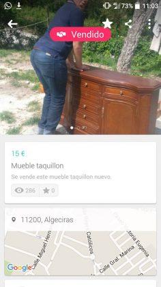 MUEBLE TAQUILLON