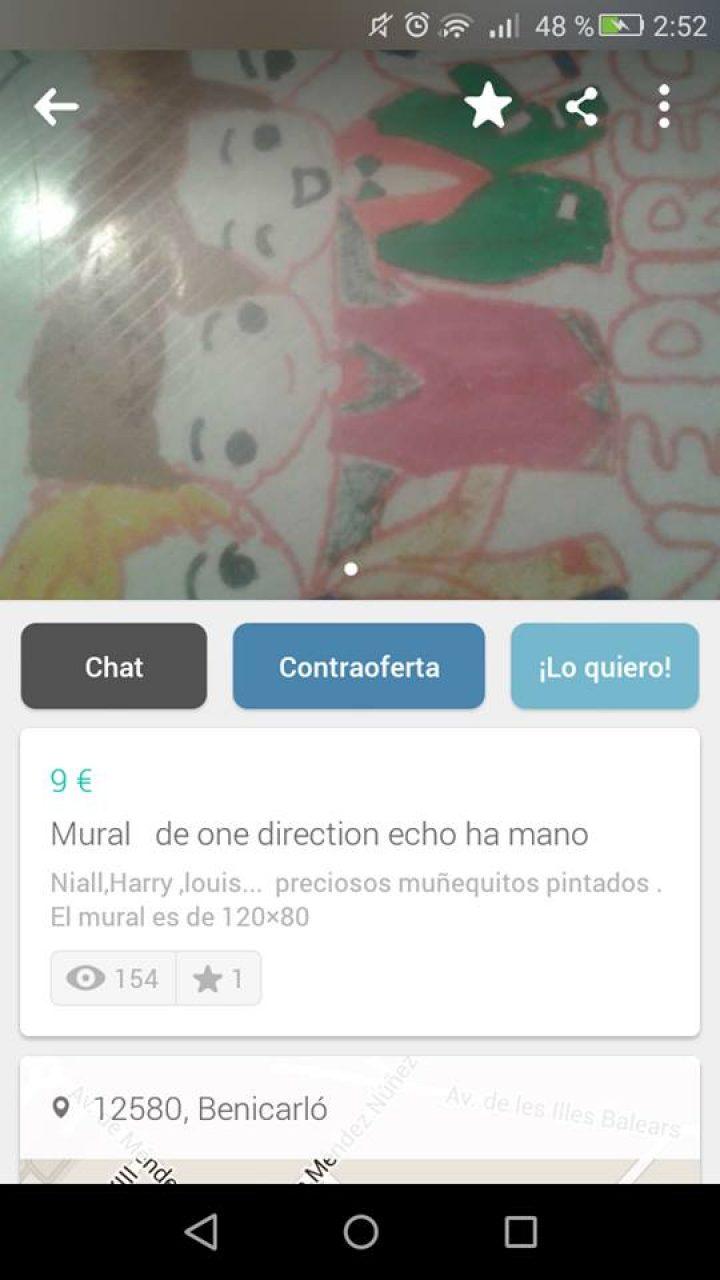 MURAL DE ONE DIRECTION