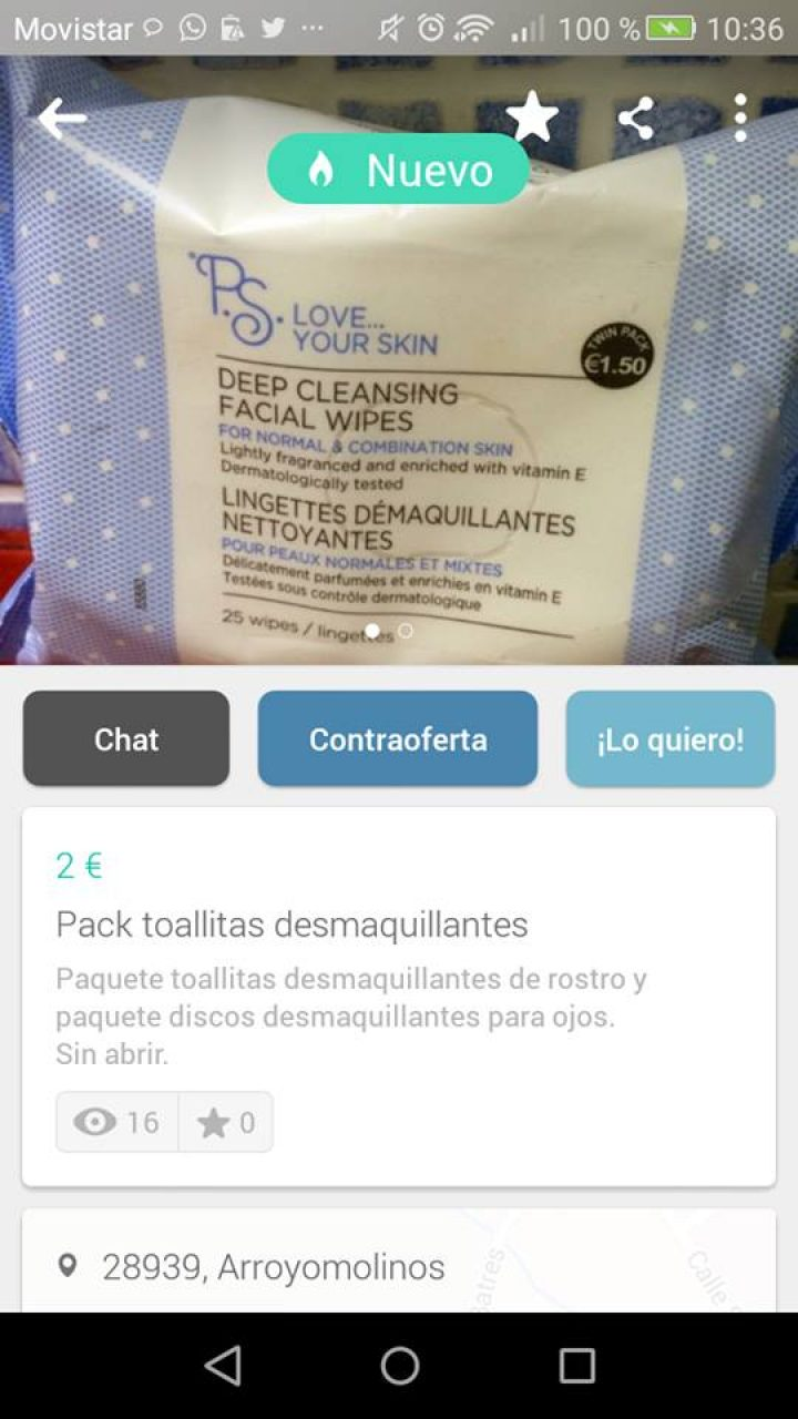 PACK TOALLITAS DESMAQUILLANTES