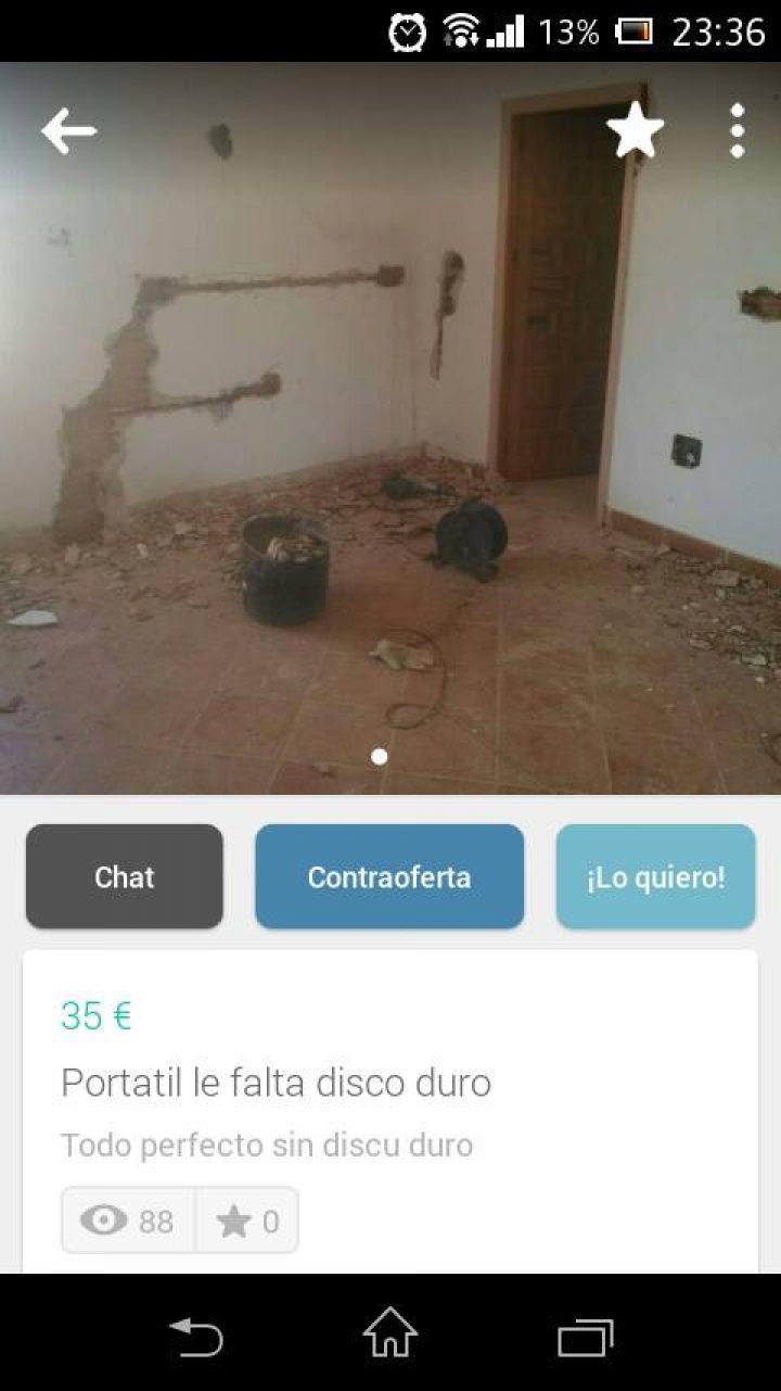 PORTÁTIL LE FALTA DISCO DURO