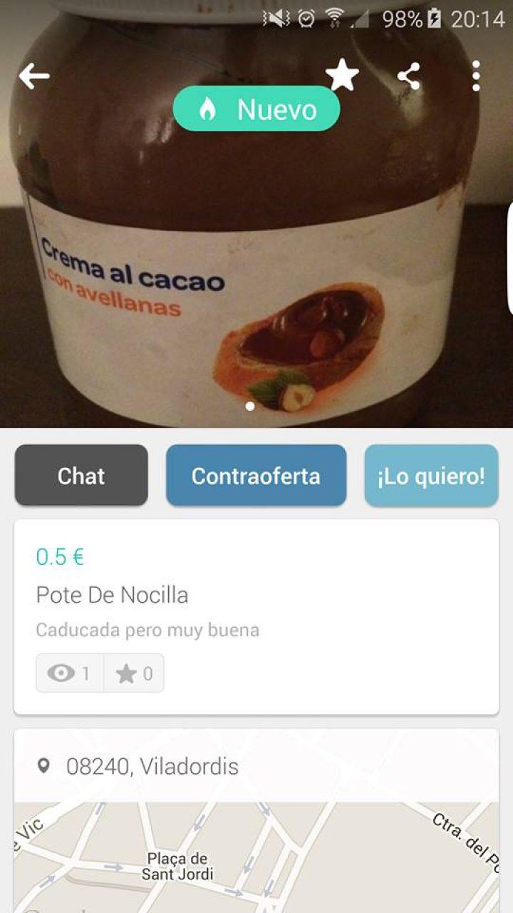 POTE DE NOCILLA
