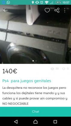 PS4 PARA JUEGOS