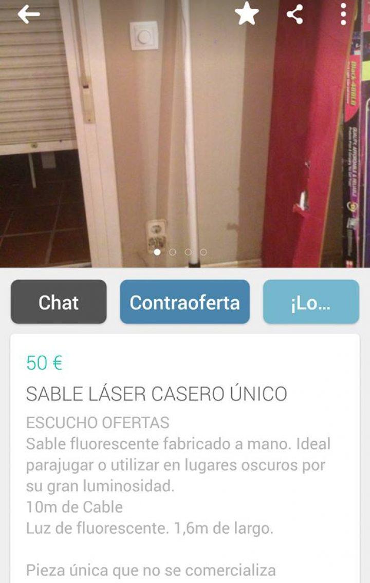 SABLE LASER CASERO ÚNICO