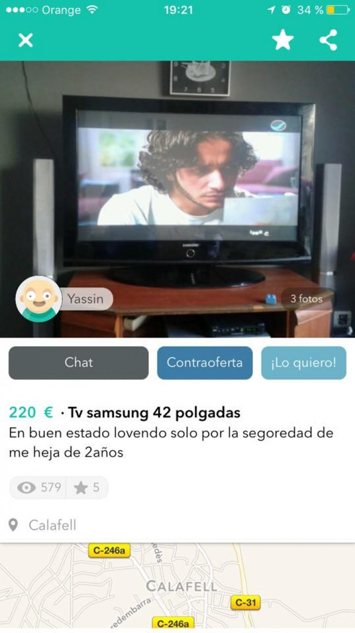 TV SAMSUNG 42 POLGADAS