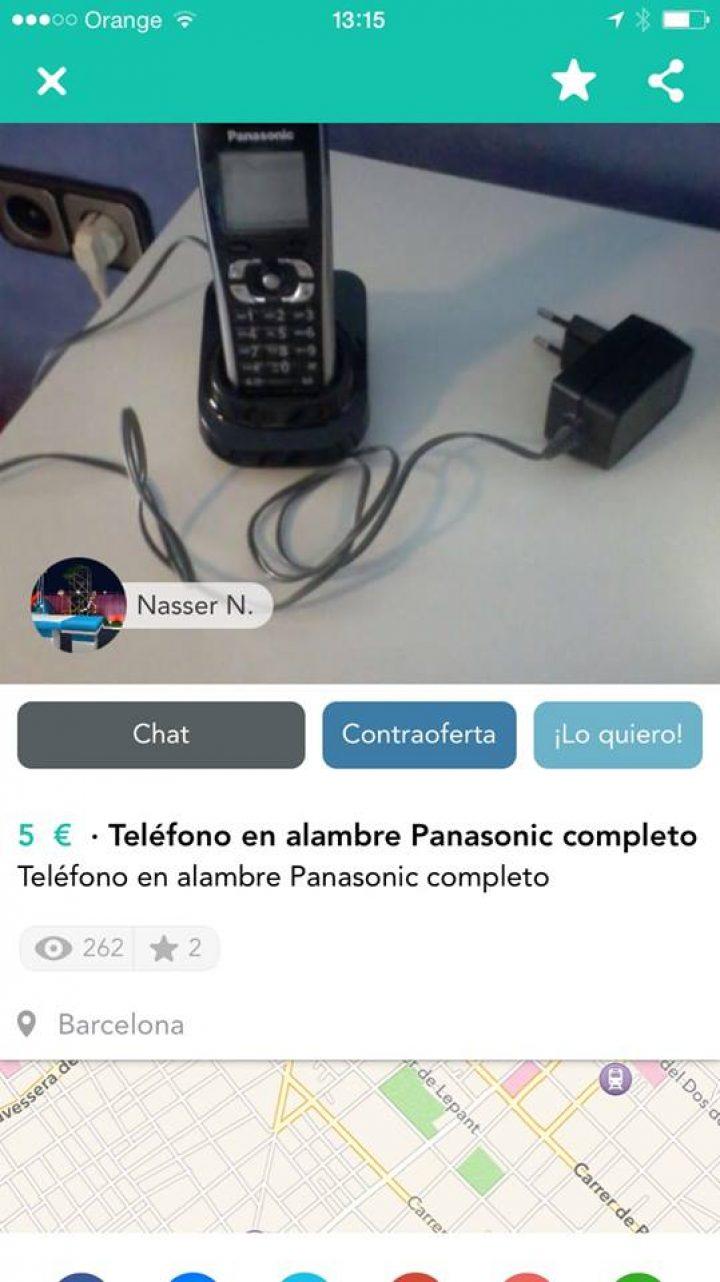 TELÉFONO EN ALAMBRE