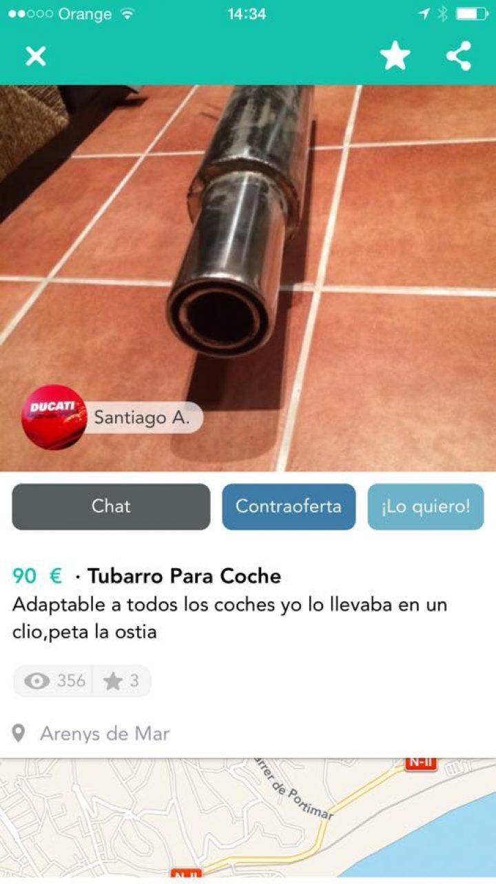 TUBARRO PARA COCHE
