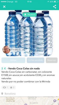 VENDO COCA COLA SIN NADA