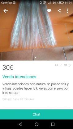 """VENDO """"INTENCIONES"""""""