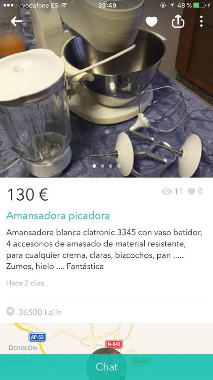 """AMANSADORA PICADORA"""